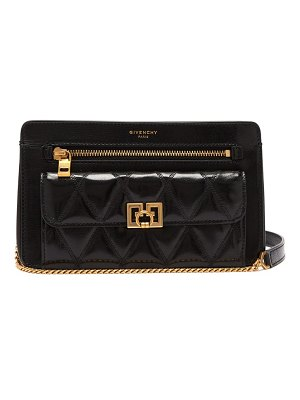 Givenchy pocket leather cross body bag