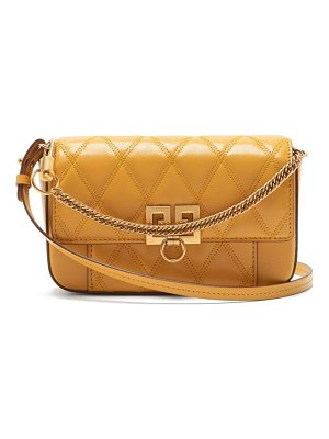 Givenchy pocket quilted leather cross body bag
