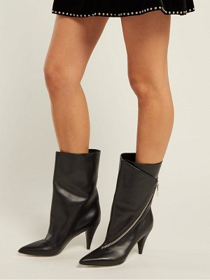 Givenchy point toe leather ankle boots