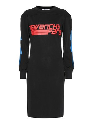 Givenchy Printed cotton-blend dress