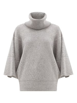 Givenchy roll-neck ribbed cashmere sweater