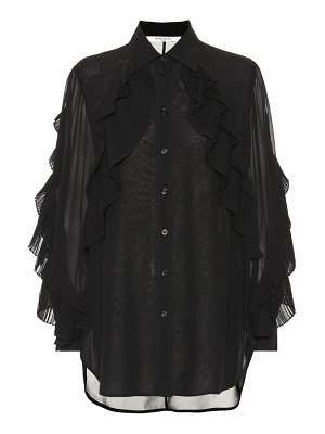 Givenchy ruffled silk-blend blouse