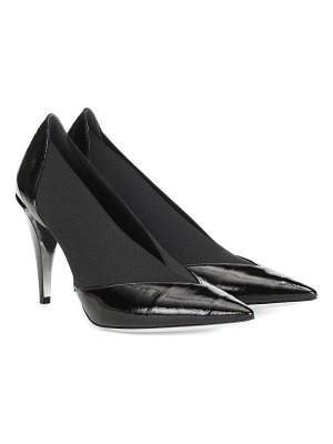Givenchy show eel leather pumps