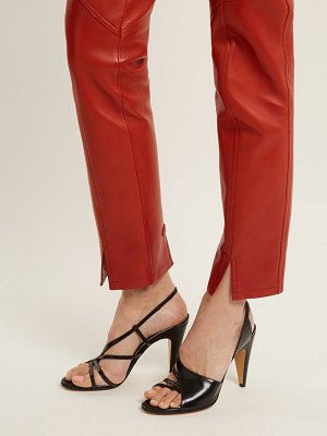 Givenchy leather high heel sandals