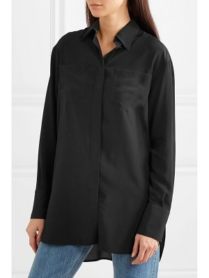 Givenchy silk crepe de chine shirt