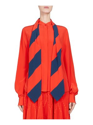Givenchy silk crepe de chine top