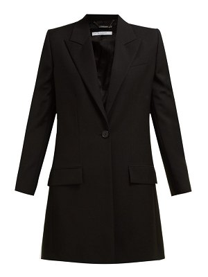 Givenchy single breasted wool blend jacket