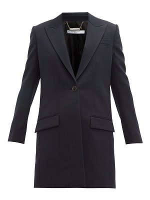Givenchy single breasted wool coat