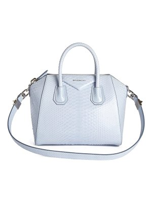 Givenchy 'small antigona' genuine python satchel