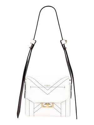 Givenchy small eden leather contrasted details bag