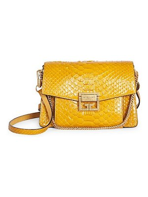 Givenchy small python gv3 shoulder bag