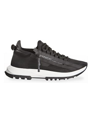 Givenchy Spectre Zip Leather Runner Sneakers