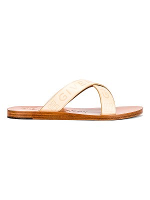 Givenchy strap criss cross flat sandals