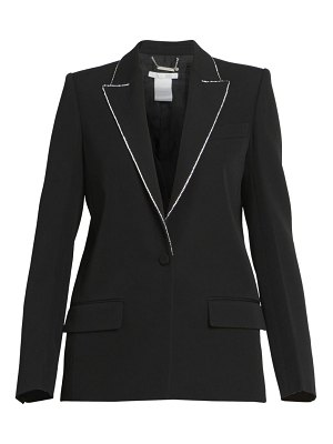 Givenchy strass embroidered wool jacket