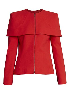 Givenchy structured shoulder cape top