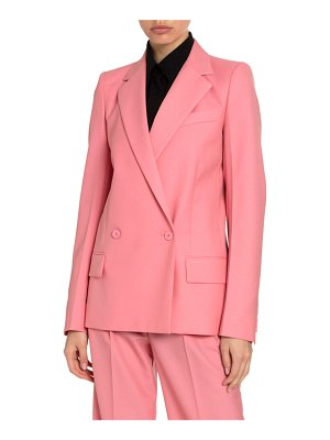 Givenchy Summer Wool Double-Breasted Structured Blazer