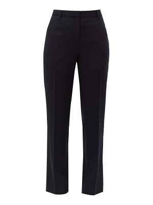Givenchy tailored wool-crepe slim-leg trousers
