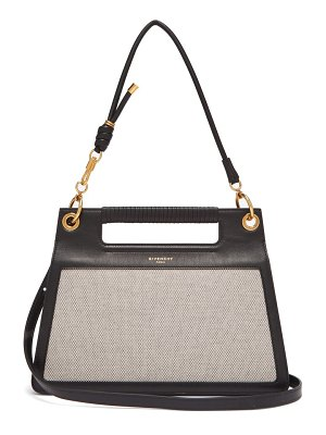Givenchy the whip medium cut out leather cross body bag