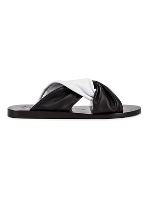 Givenchy tie flat sandals