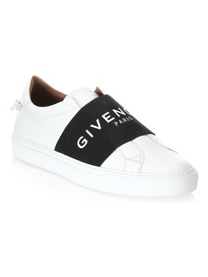 Givenchy urban knot logo band leather sneakers