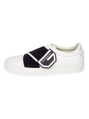 Givenchy urban logo strap leather sneakers