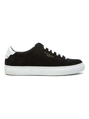Givenchy Urban Tie Knot Suede & Leather Sneakers