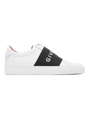 Givenchy white and black urban street elastic sneakers