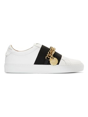 Givenchy white chain urban street sneakers