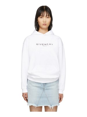 Givenchy white vintage hoodie
