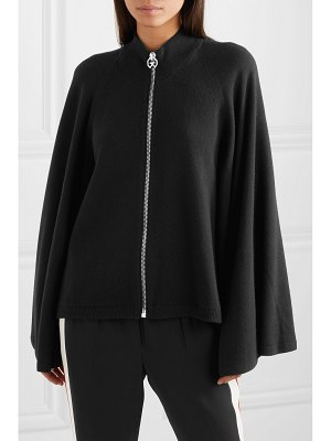 Givenchy wool and cashmere-blend cape cardigan