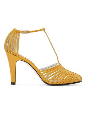 Givenchy yellow mignon cage sandals