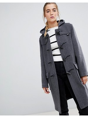 Gloverall classic duffle coat with hood