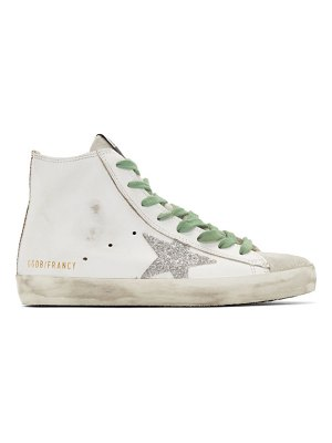 Golden Goose and silver francy sneakers