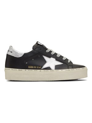 Golden Goose and silver hi star sneakers