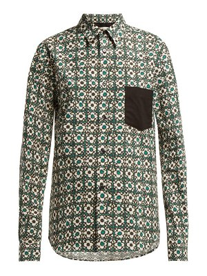 GOLDEN GOOSE DELUXE BRAND Floral Print Cotton Shirt