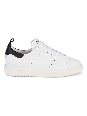 GOLDEN GOOSE DELUXE BRAND Platform Perforated Leather Sneakers