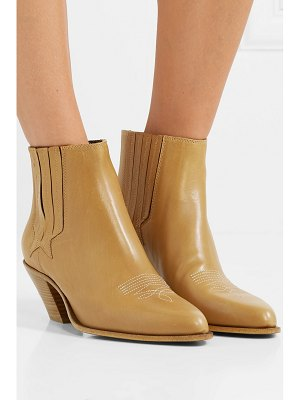 Golden Goose sunset leather ankle boots