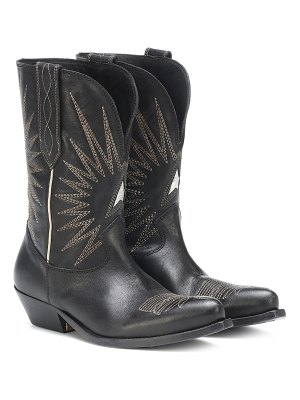 GOLDEN GOOSE DELUXE BRAND Wish Star leather cowboy boots
