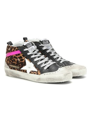 Golden Goose exclusive to mytheresa – mid star calf hair sneakers