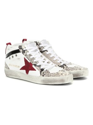 Golden Goose exclusive to mytheresa – mid star leather sneakers