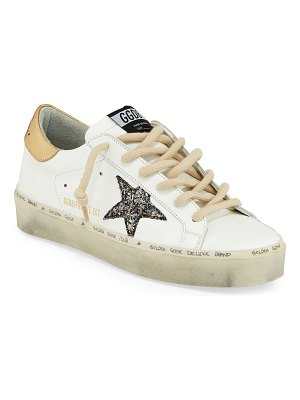 Golden Goose Hi-Star Lace-Up Sneakers