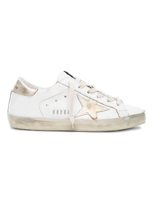 Golden Goose Leather Superstar Low Sneakers