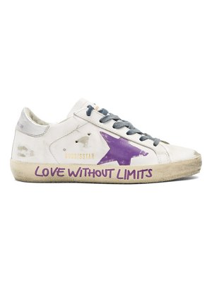 Golden Goose love without limits superstar sneakers