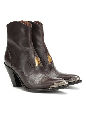 Golden Goose nora leather cowboy boots