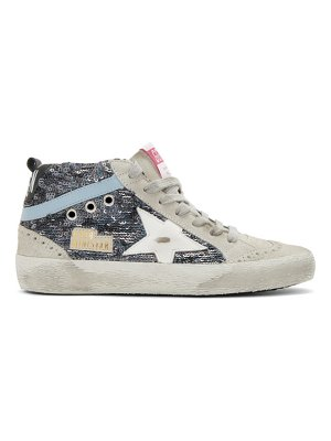 Golden Goose paillettes mid star sneakers