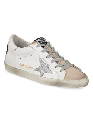 Golden Goose Superstar Bow Lace-Up Sneakers