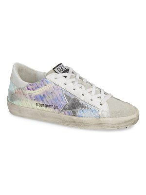 Golden Goose superstar crystal embellished sneaker