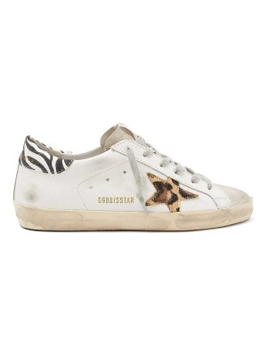 Golden Goose superstar suede trainers