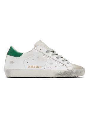 Golden Goose white and  superstar sneakers