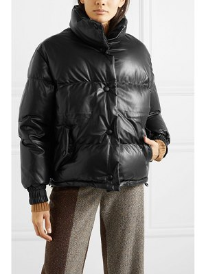 Golden Goose yuri quilted leather down jacket